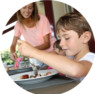Enjoyable family meals like these are possible when you get to the root of eating challenges