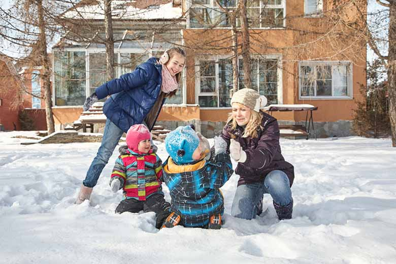 How to keep your kids active in the winter -- healthy indoor and outdoor activities
